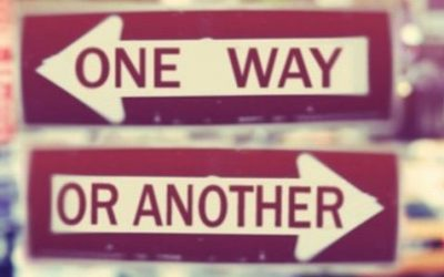 Only One Way? by Ian Wilsher